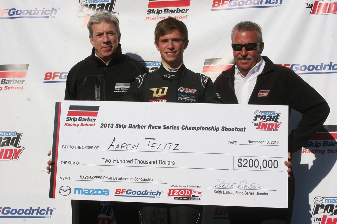 Mazda Scholarship Winner Telitz Joins ArmsUp Motorsports in 2014