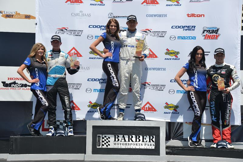 ArmsUp Builds Momentum at Barber with Podium Finish
