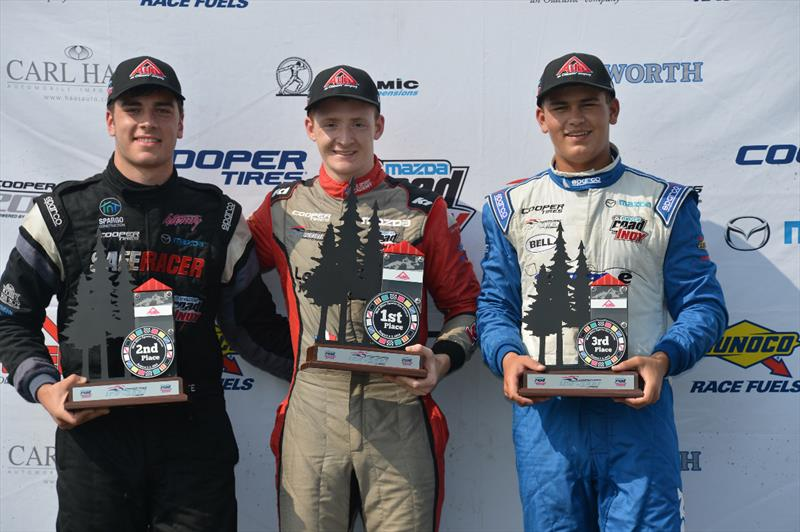 Successful Triple Podium Weekend for ArmsUp at Mid-Ohio