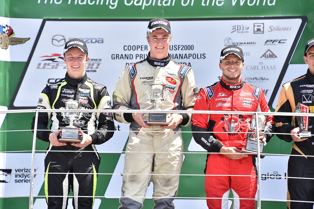ArmsUp Motorsports Celebrates Triple Podium at Grand Prix of Indianapolis